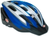Bell Triton Bicycle Helmet, Blue Silver