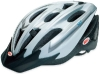 Bell Triton Bicycle Helmet, White Silver